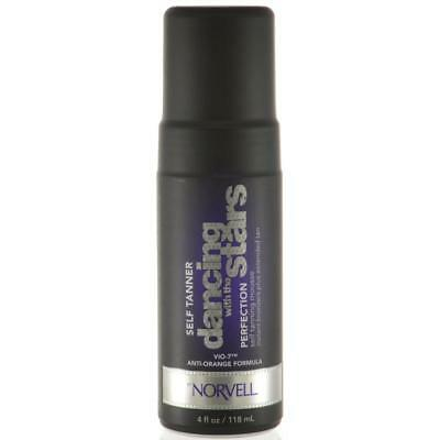 Dancing With The Stars Perfection Self Tanning Mousse 4 Fl Oz  Norvell