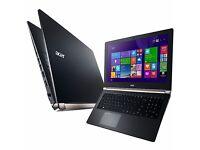 Acer nitro 17in gaming laptop - 16gb / i7 / 128gb ssd / 1tb hdd / nvidia gtx 860 4gb