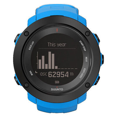 NEW SUUNTO WATCH * AMBIT3 VERTICAL BLUE * GPS * Altitude * Compass * SS021969000