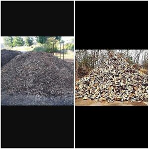 Dry Seasoned Firewood and Wood chips