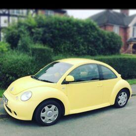 Vw beetle yellow