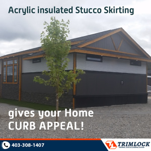 Modular Home Insulated Skirting...............Buy Factory Direct