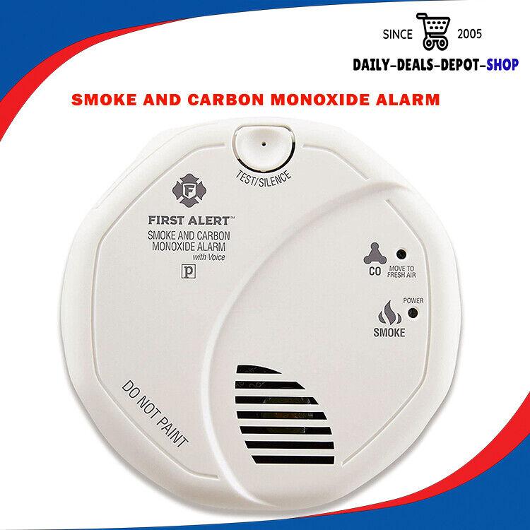 Smoke And Carbon Monoxide Combination Detector Alarm Battery