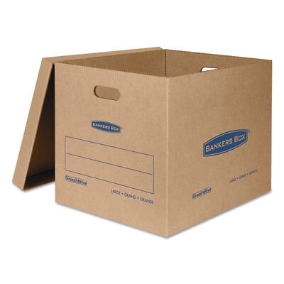 Bankers Box Smoothmove Classic Large Moving Boxes 21l X 17w X 17h Kraftblue 5