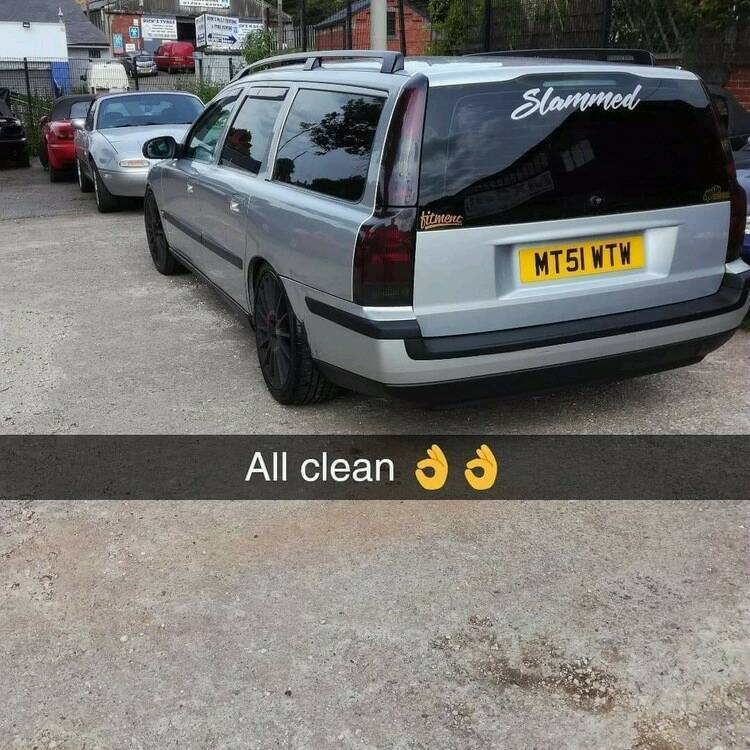 Volvo V70 D5s Lowered Cat Back Exhaust