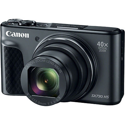 Canon PowerShot SX730 HS Digital Camera (Black) 1791C001