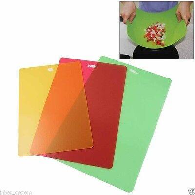 Flexible Cutting Board Kitchen Fruit Vegetable Sanitary Board Slim sheet