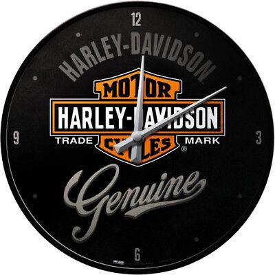 Harley-Davidson Uhr Logo Werkstatt & Garage Deko Händler design Werbung *010