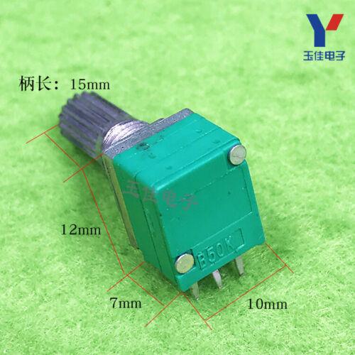 10pcs New Rk097g Dual 6-pin Audio Amplifier Sealed Dual Potentiometer B50k