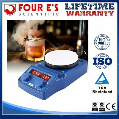 Magnetic Stirrer Hot Plate Mixer 5 Inch Led Digital Hotplate 1500 Rpm Stirrer Us