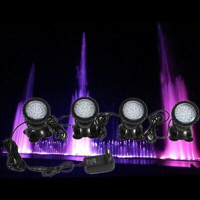 Rgb LED Luz Impermeable Submarina Spotlight Bombilla Lámpara de Acuario Fuente