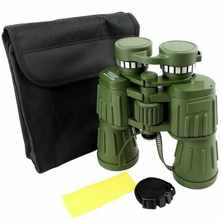 60x50 Day/Night Military Army Zoom Optics Hunting Camping Powerful Binoculars