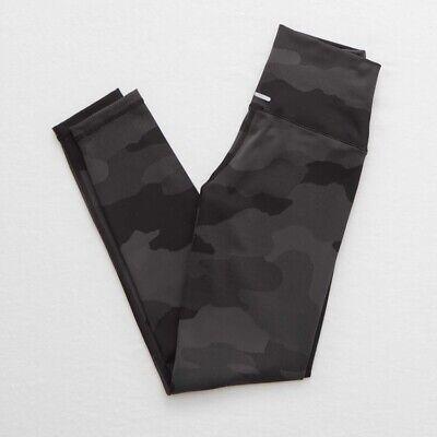 Aerie 7/8 Activewear Camo Print Leggings Worn Once Sz Small