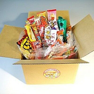 Japanese snack food assorted candy box 90 pieces