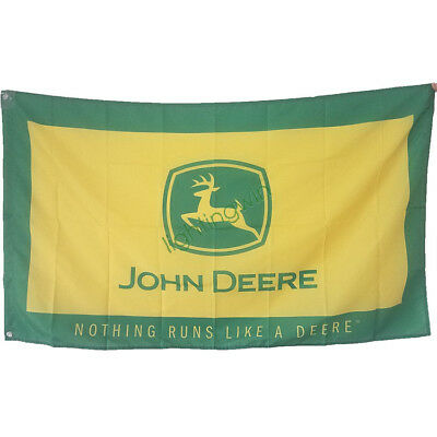 New Banner Flag for John Deere Flag Wall Decor 3x5ft, used for sale  Shipping to Canada