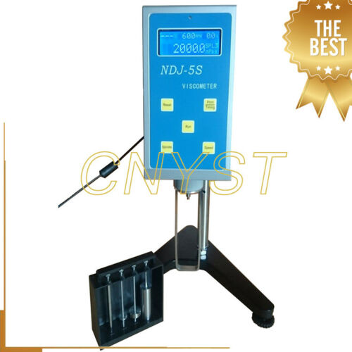 Rotational Viscometer Viscosity Tester with Measuring Range 20 to 100000mPa.s