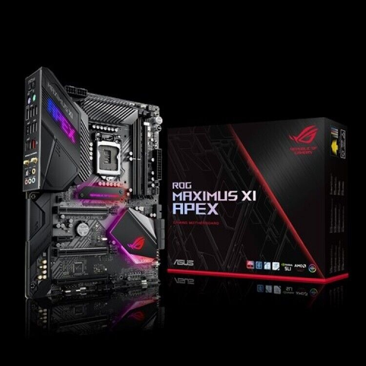 ASUS ROG MAXIMUS XI APEX INTEL Z390 (SOCKET 1151) DDR4 ATX MOTHERBOARD | in  Shaw, Manchester | Gumtree