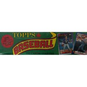 1990 Topps sealed factory set
