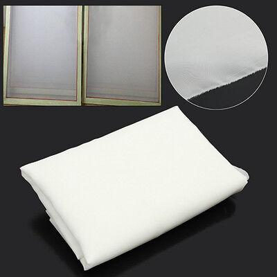3 Yards 160m 64t Silk Screen Printing Mesh Fabric White 007207 Width 50