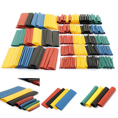 328pcs Polyolefin 21 Heat Shrink Tube Sleeving Wire Cable Wrap Sleeve Tube Us