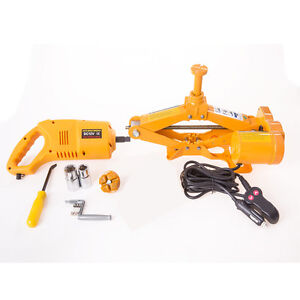 Electric Car Jack & Electric Wrench 2.5 Ton