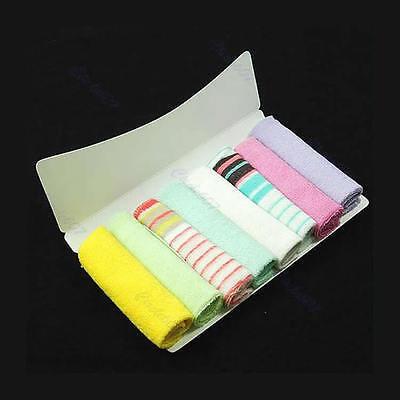 8 Pcs Soft Baby Newborn Children Bath Washcloth Towels For Bathing Feeding