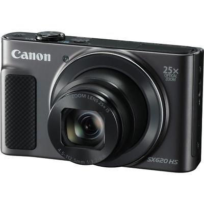 Canon PowerShot SX620 HS Digital Camera (Black) 1072C001