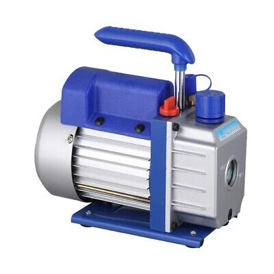 Electric Rotary Vane Vacuum Pump Air Tool Two-stage 7cfm Oil Capacity 370ml