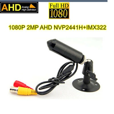 1080P 2.0 Megapixel micro spy Pinhole CAM Bullet AHD 2000TVL Mini AHD Camera UTC