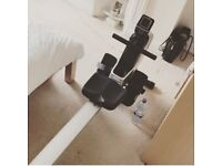 Barely used rowing machine