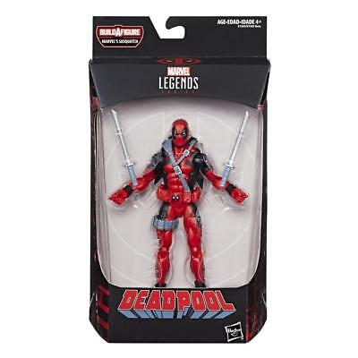 "Marvel Legends DEADPOOL BAF SASQUATCH Wave 2018 RED DEADPOOL 6""Figure In Stock"