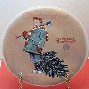 LOOKING FOR NORMAN ROCKWELL CHRISTMAS PLATES