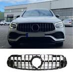 grill voor mercedes facelift glc - glc coupe chrome 2020+