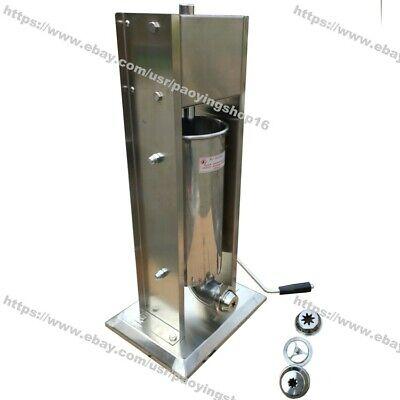 5l Hand Crank Stainless Steel Spanish Donut Churrera Churro Maker Machine Filler