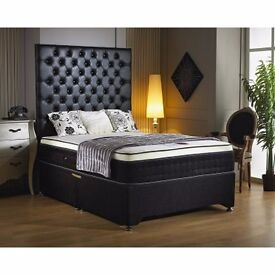 BRAND NEW ** DOUBLE MEMORY FOAM MATTRESS AND BED// FREE DELIVERY