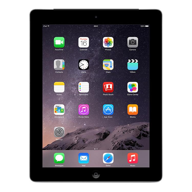 """Apple iPad 4th Gen Black 16 GB - 9.7"""" Retina Display - iPad 4 Wi-Fi Bluetooth"""