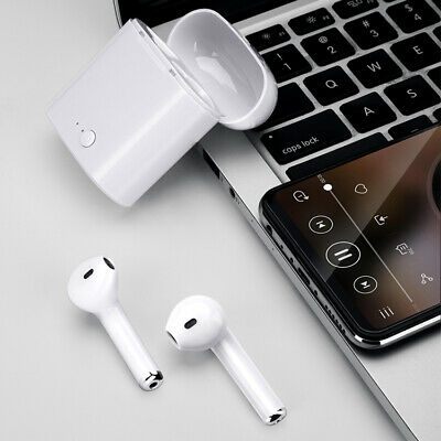 i7S Bluetooth 5.0 Wireless Earphone Headphone Android Earbuds Portable Headset