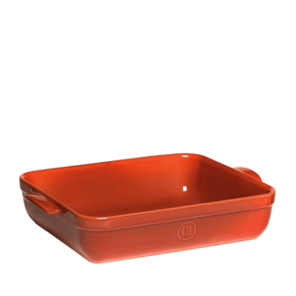 New Emile Henry Rectangular Baking Dish 42.5 x 28cm Red Brick