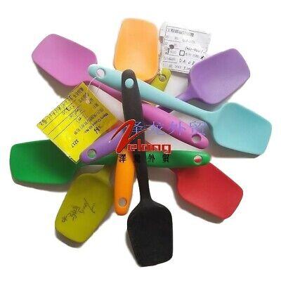 Heat Resistant Silicone Silicone Mini Spoon Scraper Spatula Mixing Batter Brush
