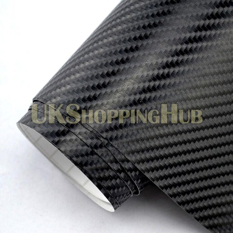 4D Black Car Wrap Vinyl sticker sheet 1000x1500mm 1x1.5 meter