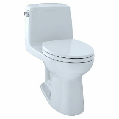 Eco Ultramax Elongated One Piece Toilet in Cotton