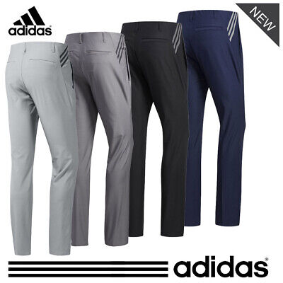 ADIDAS '2020' ULTIMATE 365 3-STRIPES TAPERED GOLF TROUSERS - ALL COLOURS & SIZES