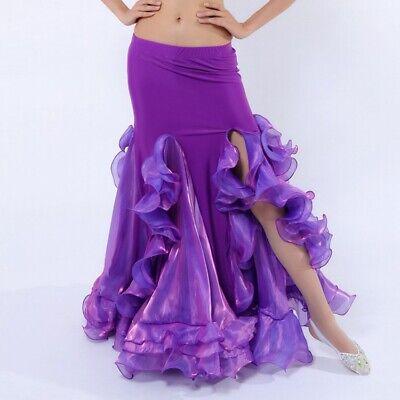 Belly Dance Costume Mermaid Fishtail Skirt 9 Colors Belly Dance Mermaid Skirt