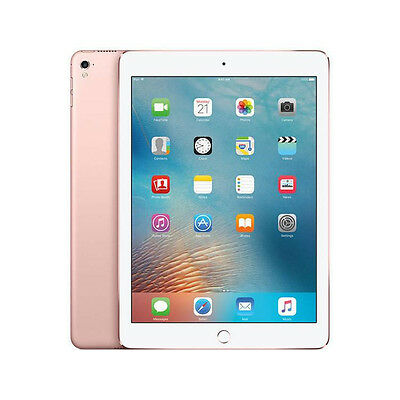 Apple iPad Pro 256GB, Wi-Fi + Cellular (Unlocked), 9.7in - Rose Gold (MLYM2LLA)
