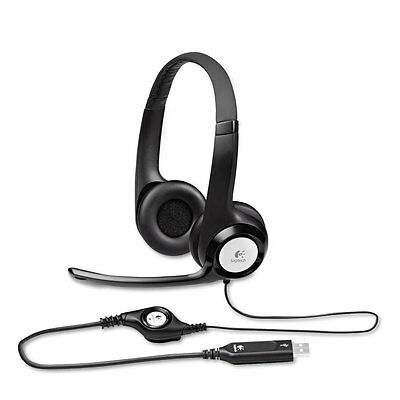 Logitech H390 Usb Headset W/noise-canceling Microphone 98...