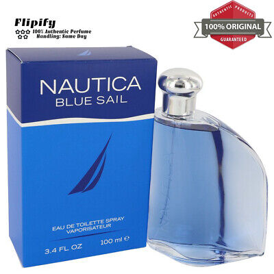 Nautica Blue Sail Cologne 3.4 oz EDT Spray for Men by Nautica