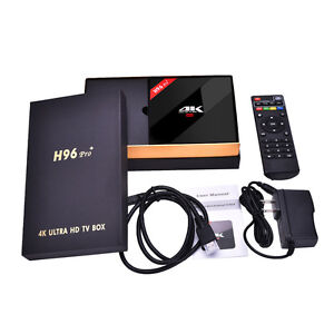 Android Box: H96 Pro+ - 3G RAM, 32G ROM, S912