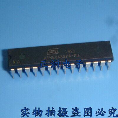 5pcs Atmega88pa-pu Dip-28 Microcontroller Mcu 8 Bit 20mhz New