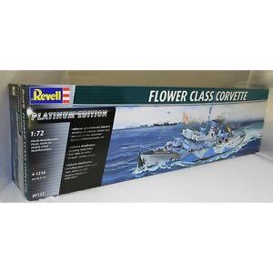 Revell 1:72 05112 Flower Class Corvette Platinum Edition Model Ship Kit