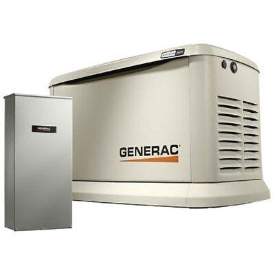 New Generac 19.522kw120240 1-phaseair Cooled Guardian Generatornglp